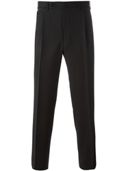 Canali Straight Trousers Black