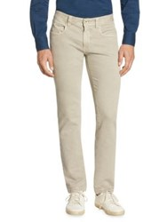 Loro Piana Slim Fit Jeans Sandshell Optic White