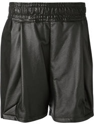 Damir Doma Pleated Shorts Black