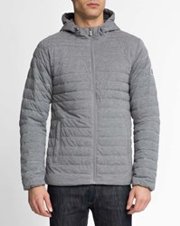 Pyrenex Light Grey Ultra Light Jersey Balaguere Down Jacket