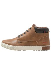 Tom Tailor Hightop Trainers Rust Brown
