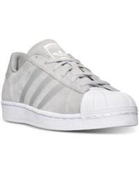 Adidas Women's Superstar Casual Sneakers From Finish Line Clear Onix White