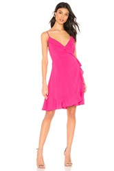 Cupcakes And Cashmere Catana Wrap Dress Pink