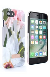 Ted Baker London Rebbeca Chatsworth Bloom Iphone 6 6S 7 8 Case Grey