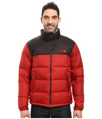 The North Face Nuptse Jacket Cardinal Red Tnf Black Men's Coat