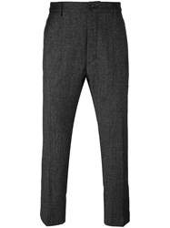 Pence Front Pleat Trousers Black