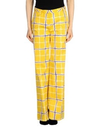Love Moschino Casual Pants Yellow