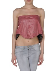 Dsquared2 Topwear Tube Tops Women Pastel Pink