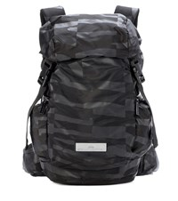 Adidas By Stella Mccartney Striped Backpack Black