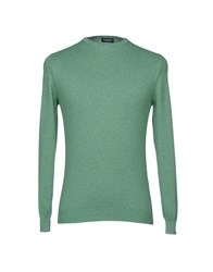 Zanieri Knitwear Jumpers Green