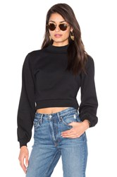 Lovers Friends X Revolve Kourtney Cropped Sweater Black