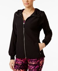 Calvin Klein Performance Stretch Hooded Jacket Black