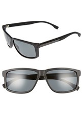 Boss Men's 60Mm Polarized Sunglasses
