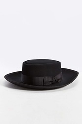 Bailey Of Hollywood Cosgrove Wide Brim Pork Pie Hat Black