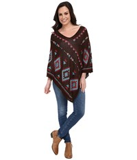 Scully Katerina Poncho Multi Women's Coat