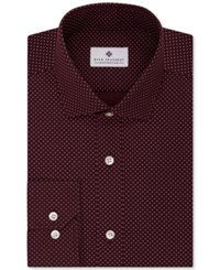 Ryan Seacrest Distinction Men's Slim Fit Non Iron Dot Print Dress Shirt Only At Macy's Light Blue