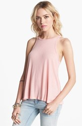 Women's Free People 'Long Beach' Tank Petal Pink