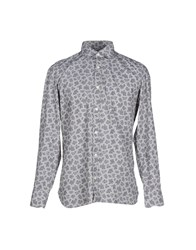 Giampaolo Shirts Shirts Men Grey
