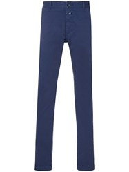 Closed Straight Fit Chinos Blue