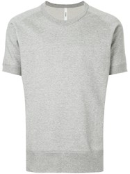 Attachment Classic Short Sleeve T Shirt Grey