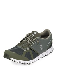 Cloud Cushioned Knit Sneakers Forest Jungle