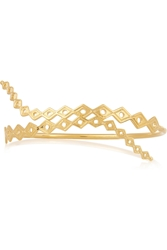 Arme De L'amour Gold Plated Arm Cuff