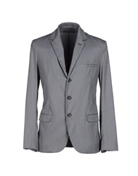 Thinple Suits And Jackets Blazers Men Grey