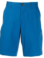 Michael Michael Kors Tailored Fitted Shorts Blue