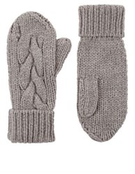 Barneys New York Men's Cashmere Mittens Grey