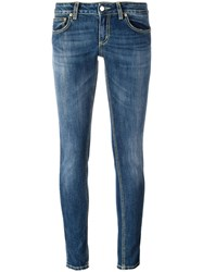 Dondup Super Skinny Jeans Blue