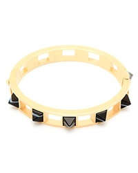 Song Of Style Jewelry Pyramid Stud Bracelet Black Onyx