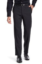 Ted Baker Jarret Charcoal Woven Suit Separates Wool Trouser Gray