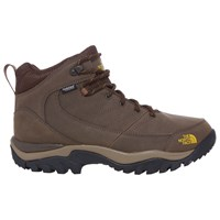 The North Face Storm Strike Mid 'S Waterproof Hiking Boots Slate Grey Leopard Yellow