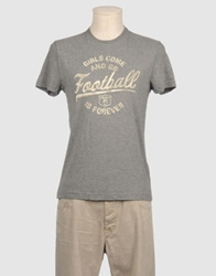 Fred Mello Short Sleeve T Shirts Grey