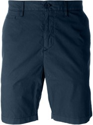 Burberry Brit Chino Shorts Blue