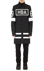 Hood By Air Men's Box Logo Duster Coat Black