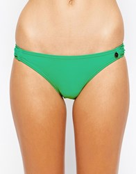 All About Eve Hipster Gathered Bikini Bottom Green