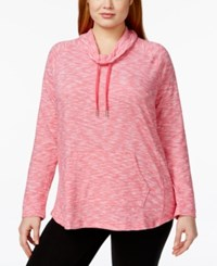 Styleandco. Style And Co. Plus Size Space Dyed Funnel Neck Sweatshirt Only At Macy's