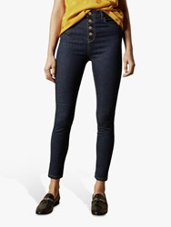 Ted Baker Leppie Button Front Jeans Blue