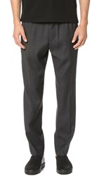 Club Monaco Crepe Elastic Dress Pants Charcoal Heather