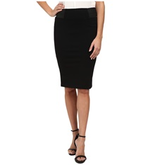 Bobeau Ponte Skirt Black Women's Skirt