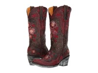 Old Gringo Pansy Chocolate Cowboy Boots Brown