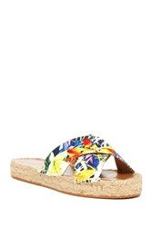 French Connection Luz Crisscross Slide Sandal Multi