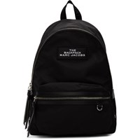 Marc Jacobs Black The Large Backpack