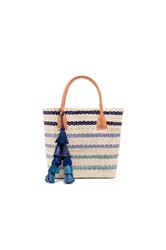 Hat Attack Small Provence Tote Blue