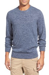 Men's Grayers Heathered Wool And Linen Crewneck Sweater