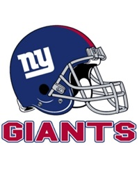 Rico Industries New York Giants Static Cling Decal Team Color