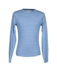 Orlebar Brown Sweaters Sky Blue