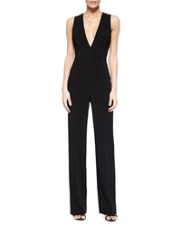 A.L.C. Luree V Neck Wide Leg Jumpsuit