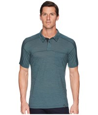 Smartwool Everyday Exploration Polo Midnight Green Clothing
